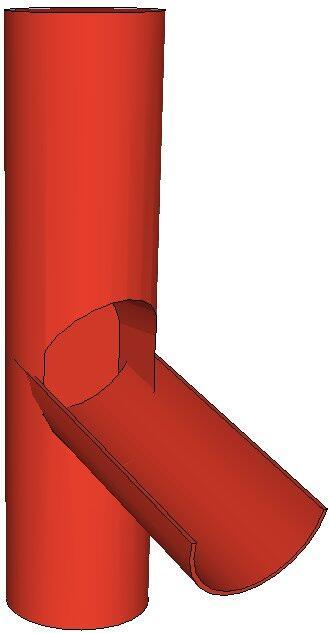 Výpust do sudu 100 mm, Al lakovaný